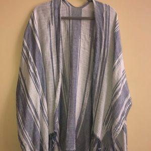 Beachy Blanket Poncho